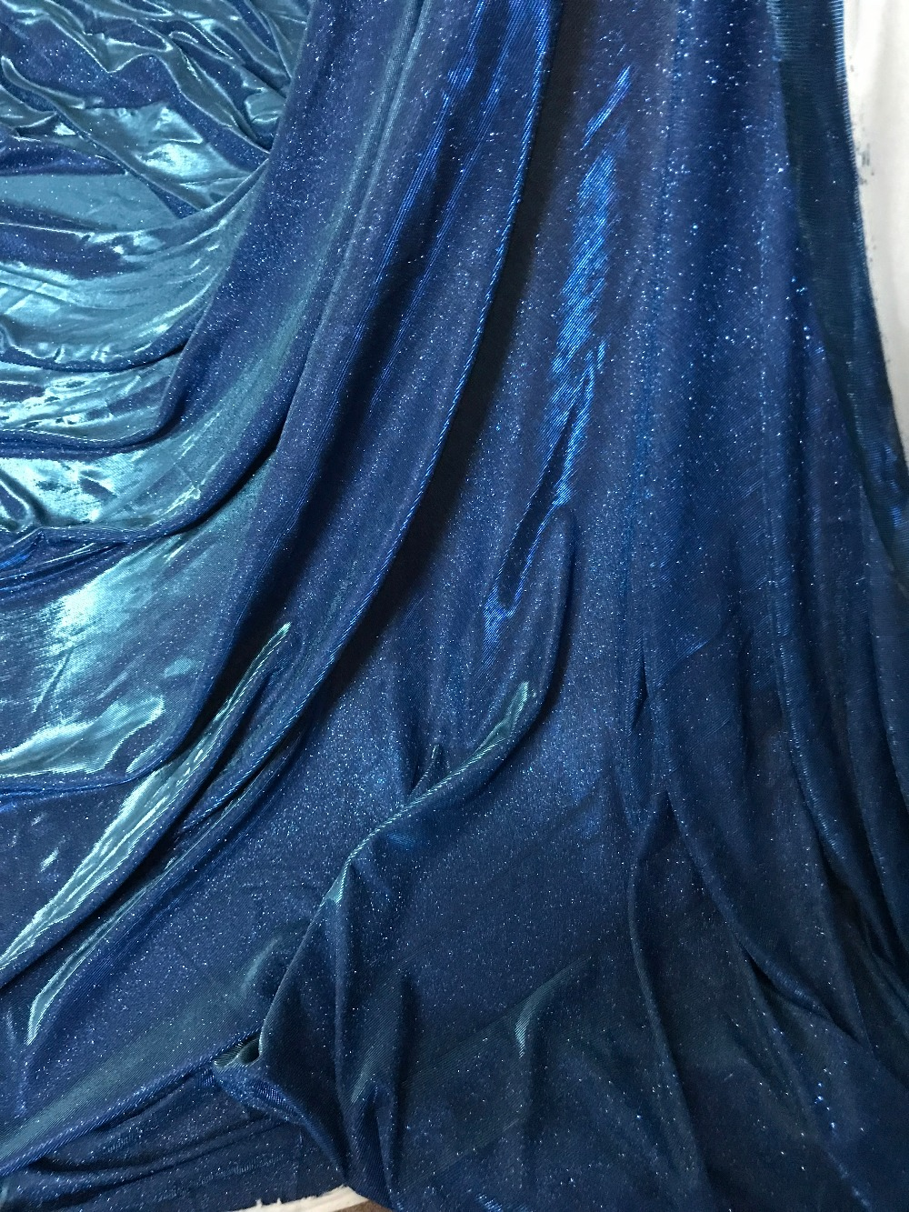 Cyndi 10 3102 beaded glued glitter sequins lace fabric Hot selling African French net tulle Lace