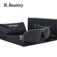 R1607 HD Marque Design Lunettes de Soleil Hommes Polarisé Mode lunettes De Soleil de Luxe Shades UV400
