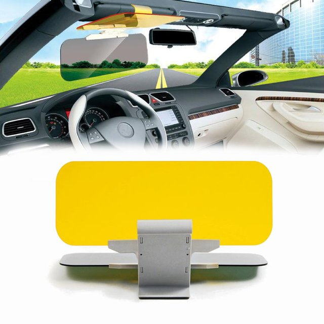 Day Night HD Anti-Glare Auto Car Flip Down Shield Sun Visor Vision Block  View UV 32fa22fe9fd