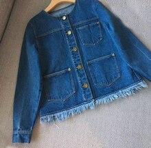 Women Jean Jacket Denim 2017 Jean Jacket Vintage Elegant Jackets Coat Women