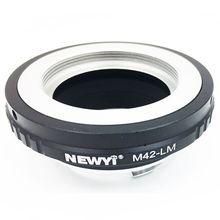 Адаптер NEWYI M42 LM для объектива M42 для камеры Le ica M LM M9 с TECHART LM EA7, адаптер M42 для объектива Le ica M camera M24