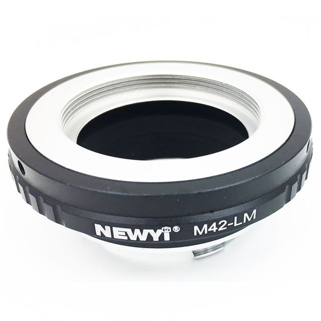 NEWYI M42 LM adapter for M42 Lens to Le ica M LM camera M9 with TECHART LM EA7,M42 Lens Adapter Converter to Le ica M Camera M24