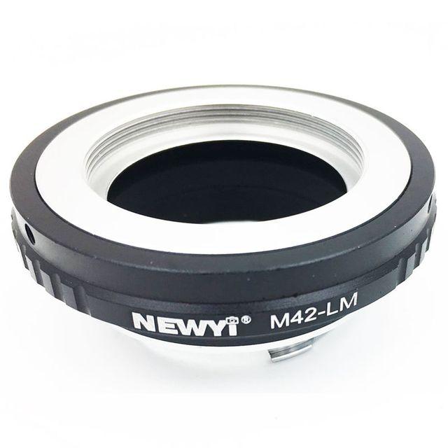 NEWYI adaptateur M42 LM pour objectif M42 vers Le ica M LM caméra M9 avec LM EA7 TECHART, convertisseur dobjectif M42 vers Le ica M caméra M24