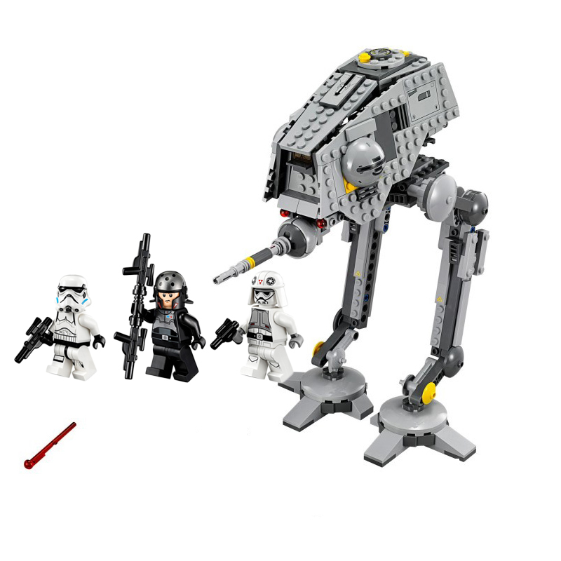 2020 NEW Hot 10376 AT-DP Building Blocks Toys Gift Rebels Animated TV Star Series Space Wars 499pcs Brinquedos 75083