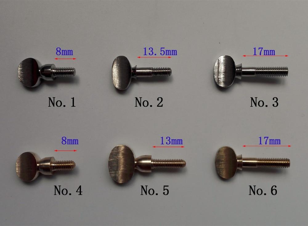 (4 կտոր / լոտ) Երաժշտական գործիքների պարանոցի պտուտակներ ՝ սաքսոֆոնային կլարինետի շեփորի տրոմբոնի համար