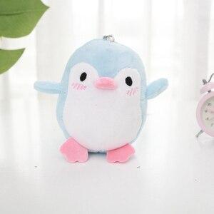 Image 4 - Kawaii 4 Kleuren Zoete 12Cm Ca. Mini Pinguïn Pluche Hanger Gevuld Speelgoed, Sleutelhanger Pinguïn Gift Wedding Party Knuffel