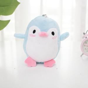 Image 4 - Kawaii 4 colores dulce 12CM aprox. Mini pingüino de peluche colgante juguete de peluche, llavero pingüino regalo fiesta de boda juguete de peluche
