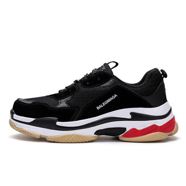 Hot Sale Paris Running Shoes Women Men Triple S Sneakers Luxury Brand Sport Shoes Couple Breathable Trainers New Athletic 2018