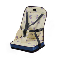 Portable Booster Seat Dinning Seat Pad Baby Chair Seater Infant Safty Travel Highchair Toddler Shopping Seat Assistant 3 Colors