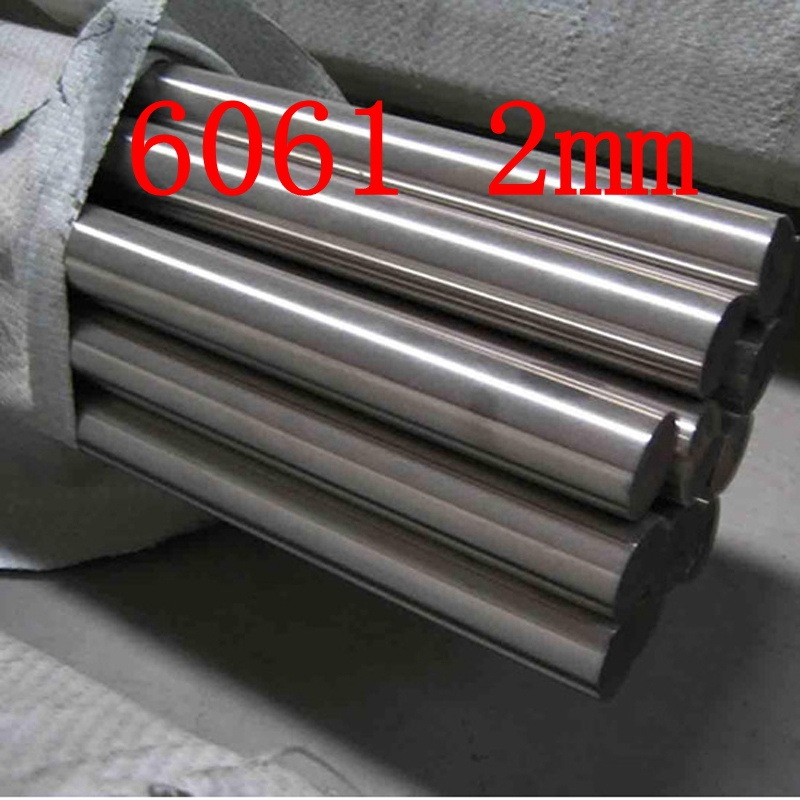 2mm DIAMETER 6061 T6 AL ALUMINIUM BAR / BILLET 2MM ENGINEERING MODELMAKING MILLING LATHES