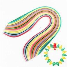 WYSE 260 Paper Quilling Strips Set 3mm/5mm/7mm/10mm 39cm Flower Gift Scrapbook Paper Glue Applicator for DIY Craft Supplies