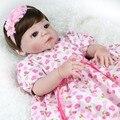 Bebe girl reborn dolls 22 inch Lifelike full body silicone reborn dolls 55cm Handmade real bonecas reborn de silicone inteiro