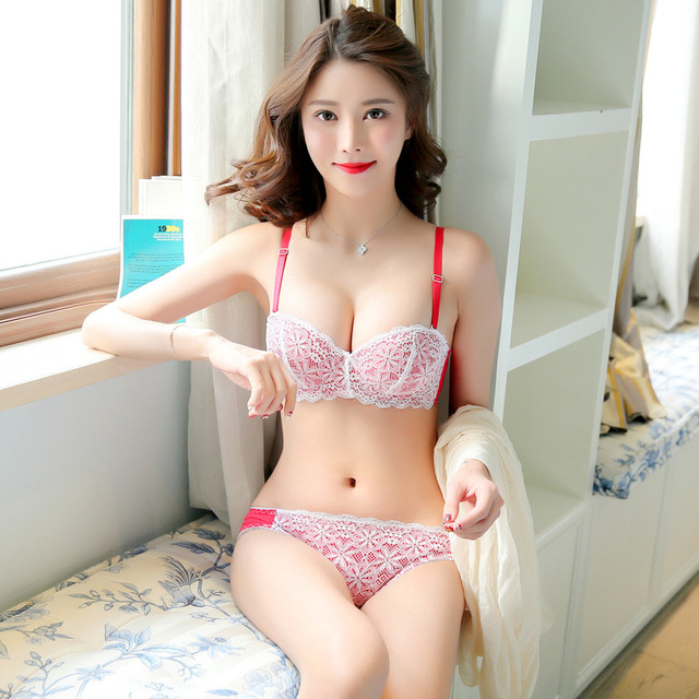 Japanese  Korean Sexy 12 Half Cup Romantic Cute -8534