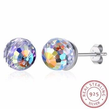 25d435b10d49 SHDEDE clásico corazón colgante collar de cristal de Swarovski joyería de  moda de alta calidad ...