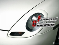 新しい 986 911 ボクスター 996 ヘッドライトがまぶたトリムcovers