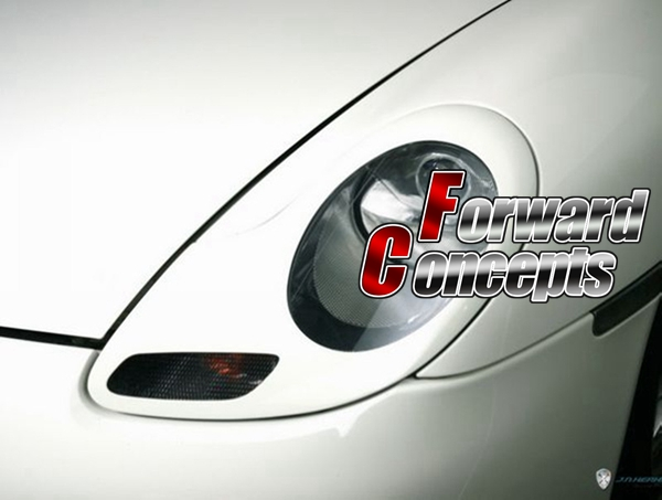 สำหรับใหม่ 986 911 BOXSTER 996 HEADLIGHTS COVERS EYELIDS TRIMS