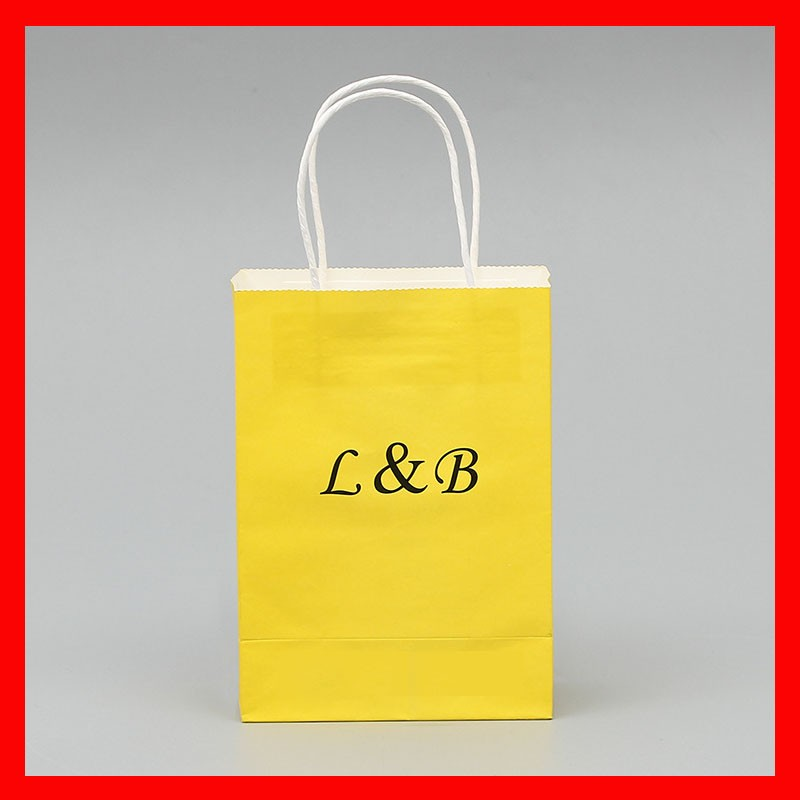 aangepaste papieren zak logo
