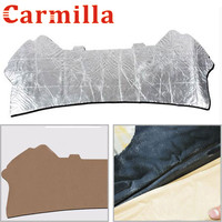 Carmilla Car Aluminum Foil Soundproof Cotton Insulation Pad Cottons For Ford Ecosport 2012 2017 Auto Accessories