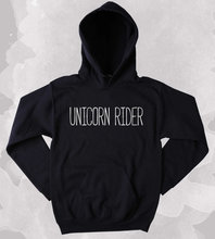 купить Unicorn Lover Sweatshirt Unicorn Rider Slogan Clothing Tumblr Hoodie-Z173 в интернет-магазине
