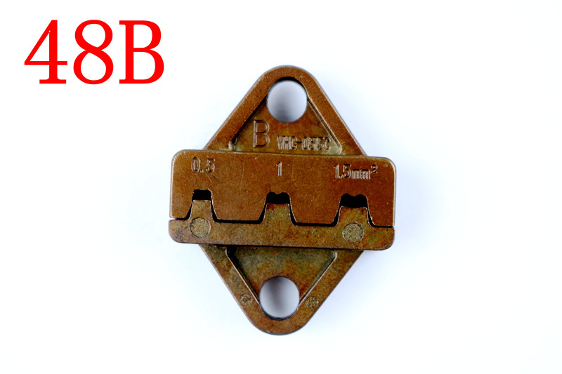 STYLE Die Sets For SN SN48B CRIMPING PLIER Series Hand Crimping Tool And For SN-48B Crimping Tool 0.5-2.5mm2 Jaws