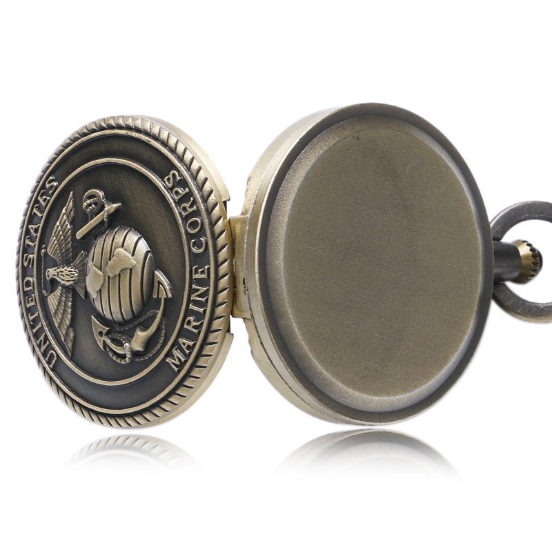 United States Marine Corps USMC Pocket Watch