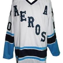 558a8076 Vintage 1974-75 Houston Aeros Gordie Howe Gord Labossiere Hockey Jersey  Embroidery Stitched Customize any