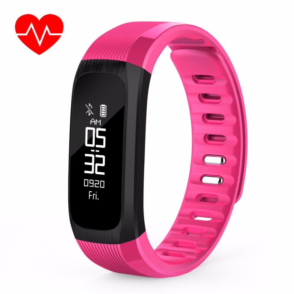 Teamyo Smart Band Heart Rate Monitor Cardiaco Wristband Xiaomi 042ampquot Screen Mi 2 Replace Black Pulsometer Sports Fitness Bracelet Waterproof For Android Iphone