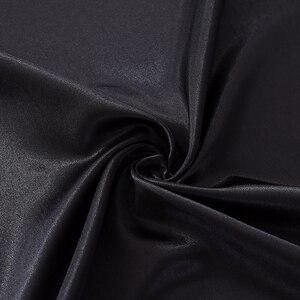 Image 4 - Lujosa funda de almohada de estilo americano, juegos de cama de seda satinada 3/4 uds, suave cama de tamaño doble reina rey