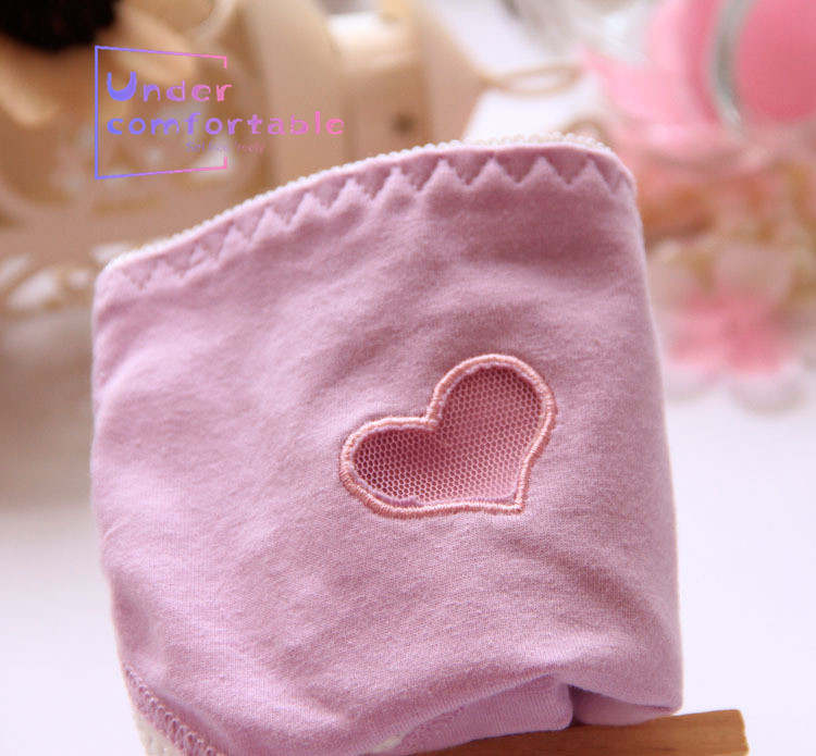 Freshness Solid Embroidery Hollow Out Women Underwear Pure Cotton Female Panties Comfortable Girls Intimates Underpanties in women 39 s panties from Underwear amp Sleepwears