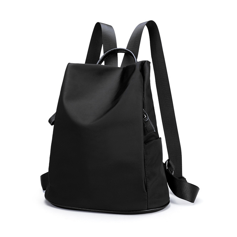 BEWITU Brand Black Backpacks Women Waterproof Oxford Soft Material Fashion Backpack For Travel School Student Women yeso brand 2017 waterproof oxford business backpack men the knapsack travel school backpacks women professional big capacity