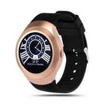 L6 bluetooth 4,0 smartwatch telefon unterstützung sim-karte für android ios smartphone freisprecheinrichtung lautsprecher handgelenk smart watch
