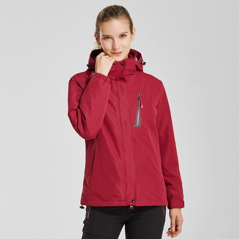 Aktiv Frau Jacke Outdoor Mantel Winter Jagd Winddicht Ski Mantel Wandern Regen Camping Angeln Kleidung Sport Jacken Frau