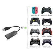 цена на Wireless Controller Converter Adapter with USB 2.0 Port for PS4/XBox/Nintend Switch/PS3 Gamepad