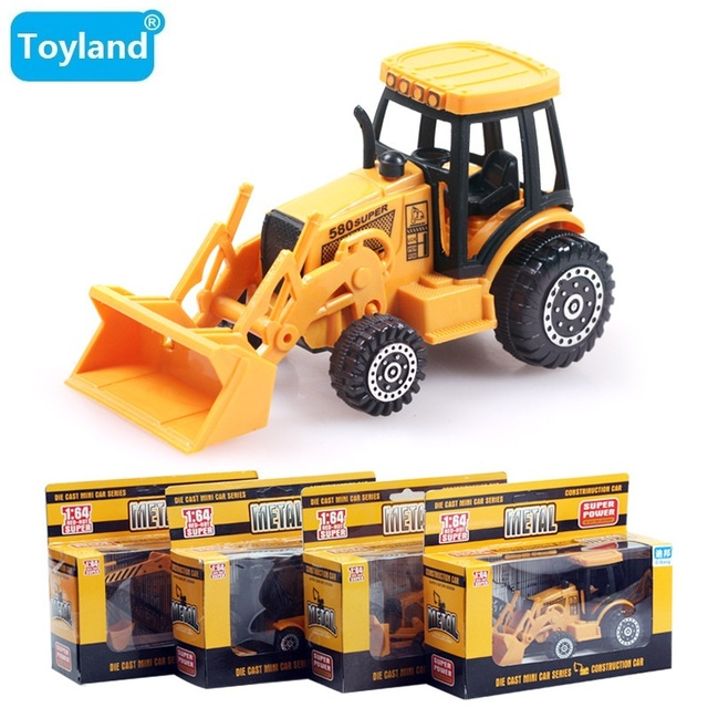 Small Toys For Boys : Best alloy wheel excavator machineshop car cars truck