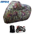 Camouflage XXXL Motorcycle Vehicle Electric Bicycle Waterproof Covers Motor Rain Coat Protectiver Universal ESPEAR B23-4