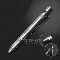 Новый мини портативный тактическая ручка со свистком нержавеющая сталь для самообороны Стекло выключатель Аварийный набор инструментов