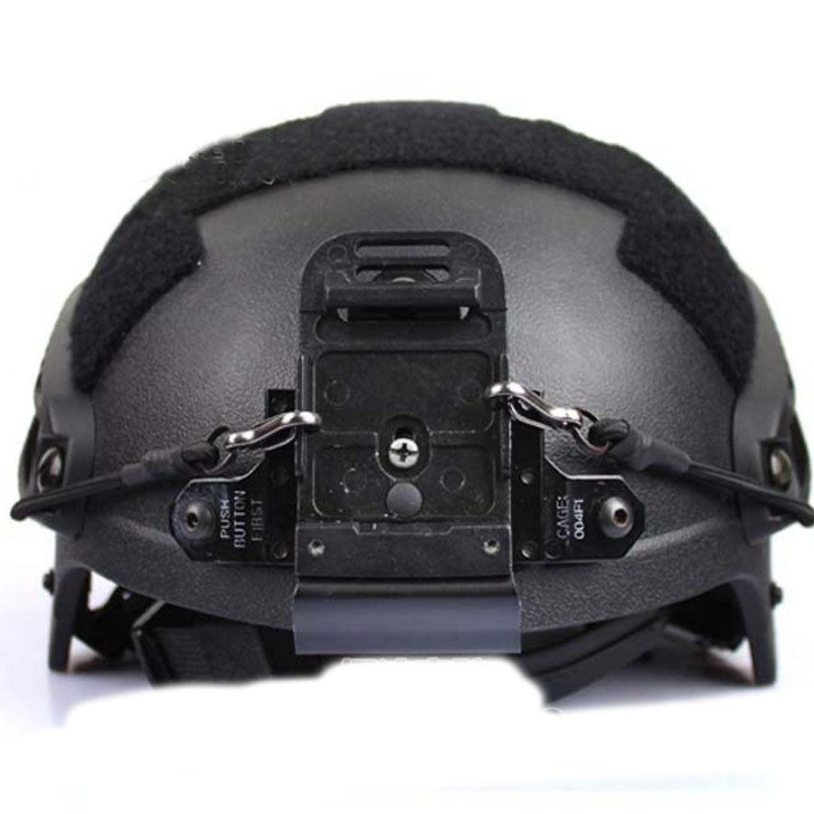 US Helmet Mount W//Screw Accessory For ACH MICH Helmet NVG PVS-7 14 NV Goggle