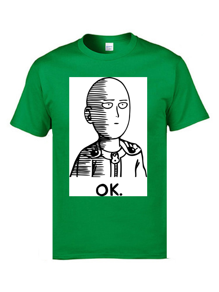 Popular Black Tees Ok Hero One Punch Man Sketch Comic Men Tops amp Tees Funny T Shirts Good Quality Brand Clothing Shirts in T Shirts from Men 39 s Clothing