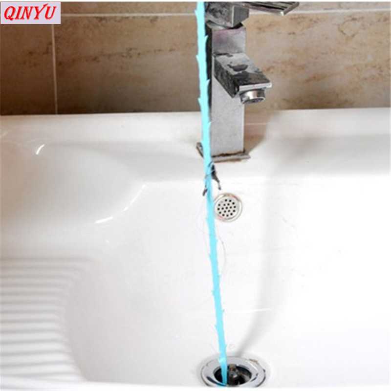 1pcs Kitchen Sink Drain Outlet Cleaning Hook Anti Clogging Floor Wig  Removal Clog Tool Bathroom Hair Sewer Filter Drain Clean 7z In Cleaning  Brushes From ...