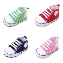 2017 Baby Shoes Girls/boys bebe sneakers Soft Sole Skid-proof Cute little Kids Toddler Shoes First Walkers Fit 0-18 Months