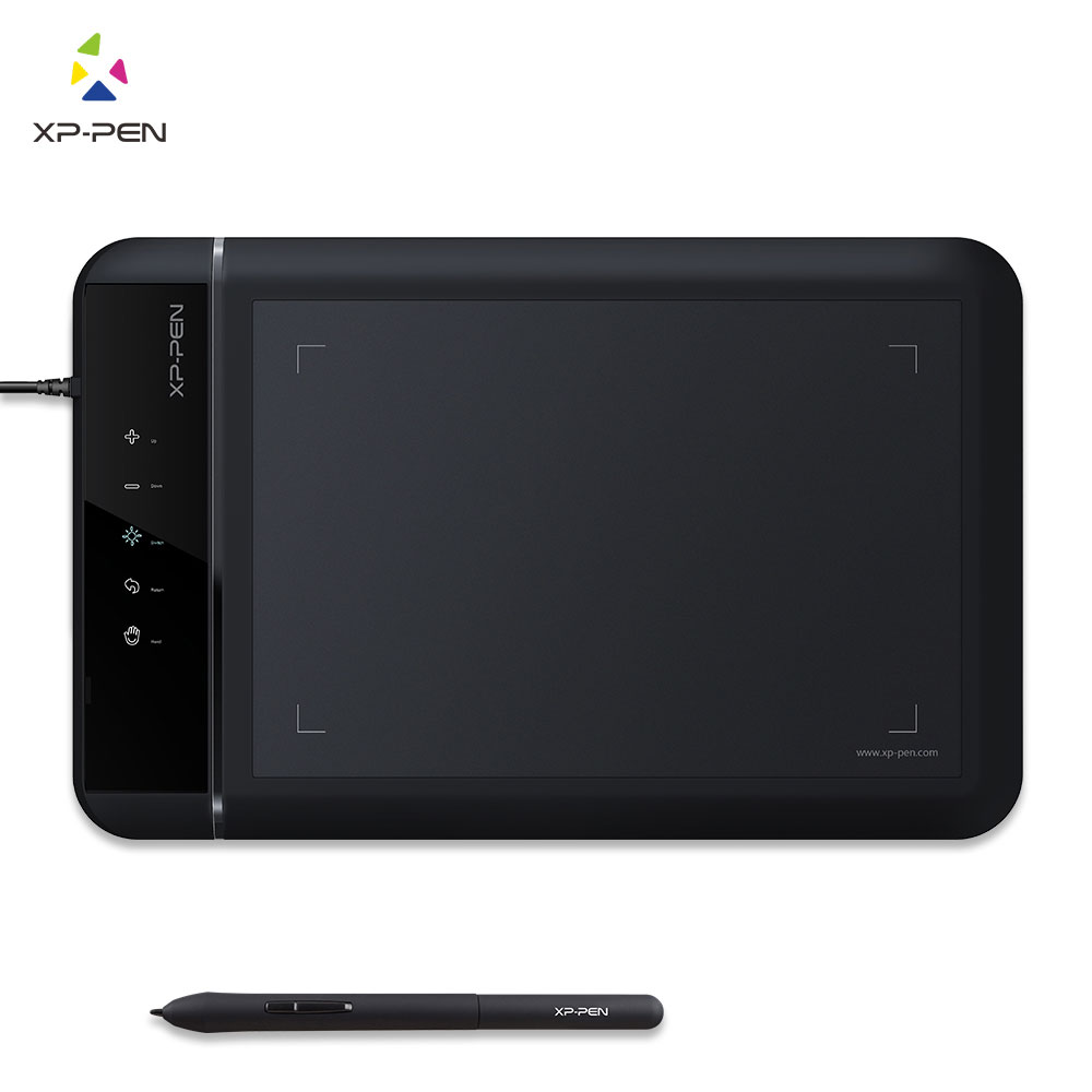 XP-Pen Star02 Graphics Drawing Pen Tablet drawing Tablet Battery-free Stylus Passive Pen Signature Painting writing Board xp pen star 03 graphics drawing tablet with battery free passive pen digital pen