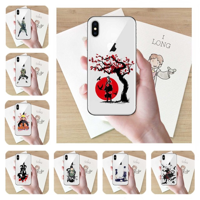 Naruto Print Cover for iPhone (25 types)