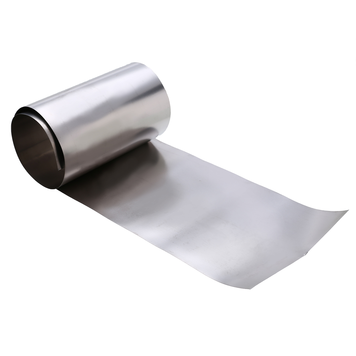 1pc Gr2 Titanium Foil Silver Thin Ti Sheet High Purity Metal Square Plate Sheet Foil Craft 0.1x100x500mm Mayitr