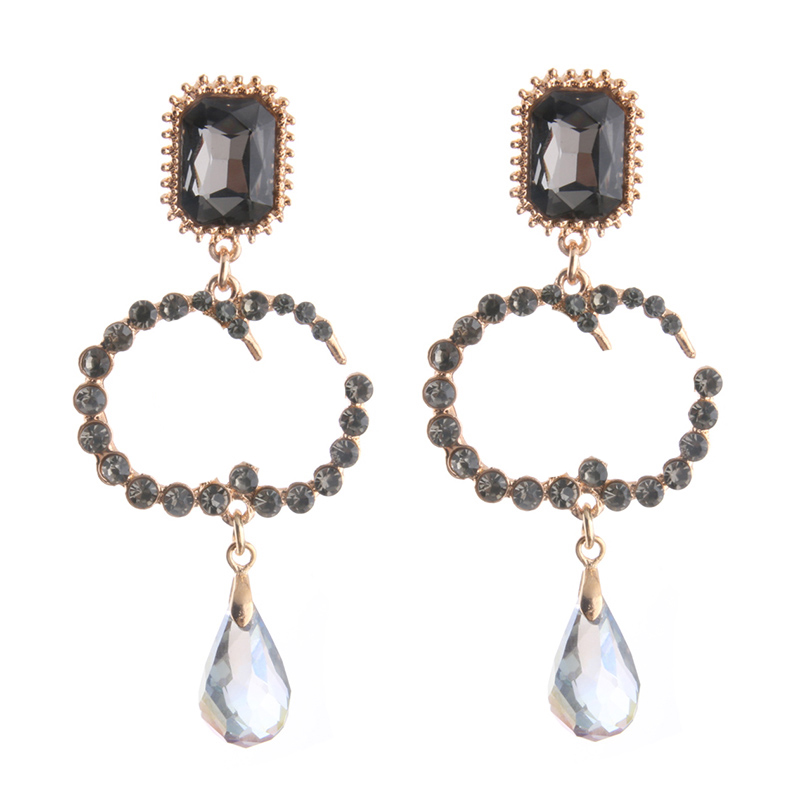 Aliexpress Chanilly68 Drop Pearl Earrings Zine Alloy Brand Rhinestone Earring Large Long Brinco Ear Accessories Oorbellen From Reliable