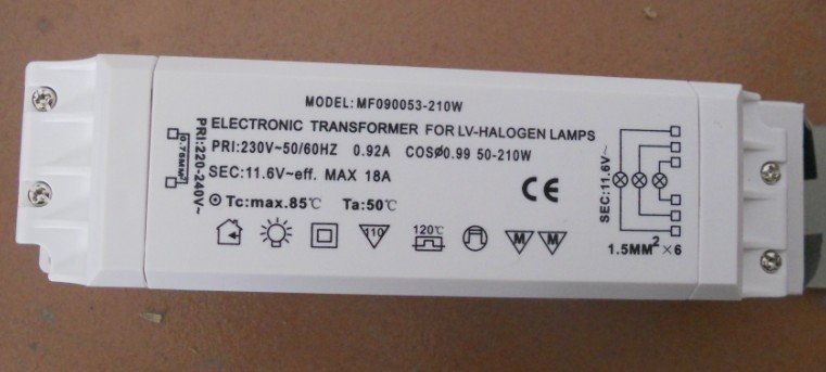 Aliexpress Com Buy 210w Electronic Transformer For Lv