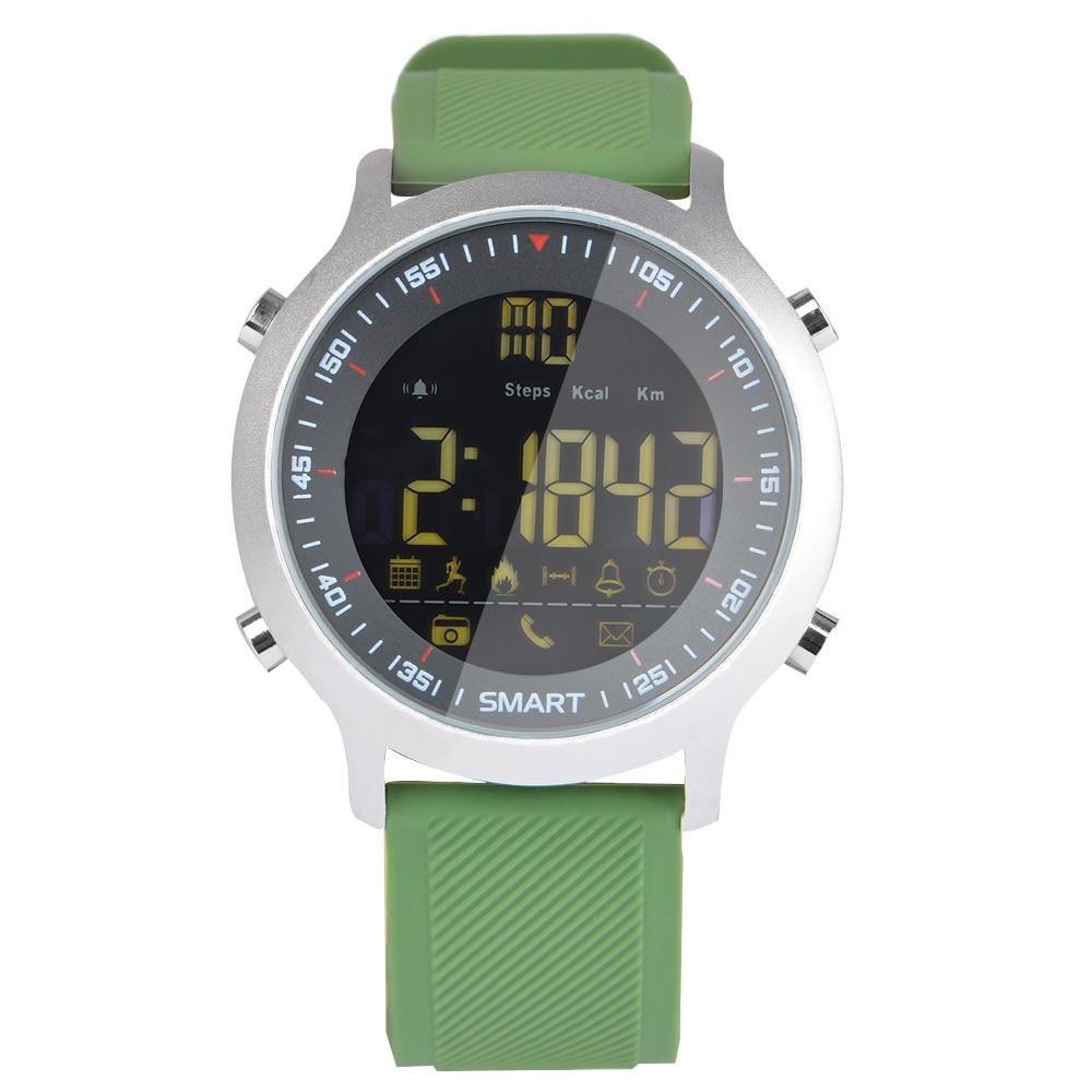 Luxury Brand Mens Sports Watches Waterproof 50m Digital Smart Watch Men Fashion Casual Electronics Wristwatches EX18 makibes ex18 smart watch silver