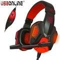 Plextone auscultadores de jogos jogo de fone de ouvido sobre a orelha fone de ouvido cabeça com microfone controle de voz led luz para computador pc gamer ps4