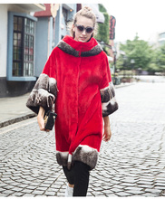 ~European star special Noble New Natural Full Pelt Mink Fur Winter Coat Women's Sleeveless Fashion All-match Knitted Mink Coat!