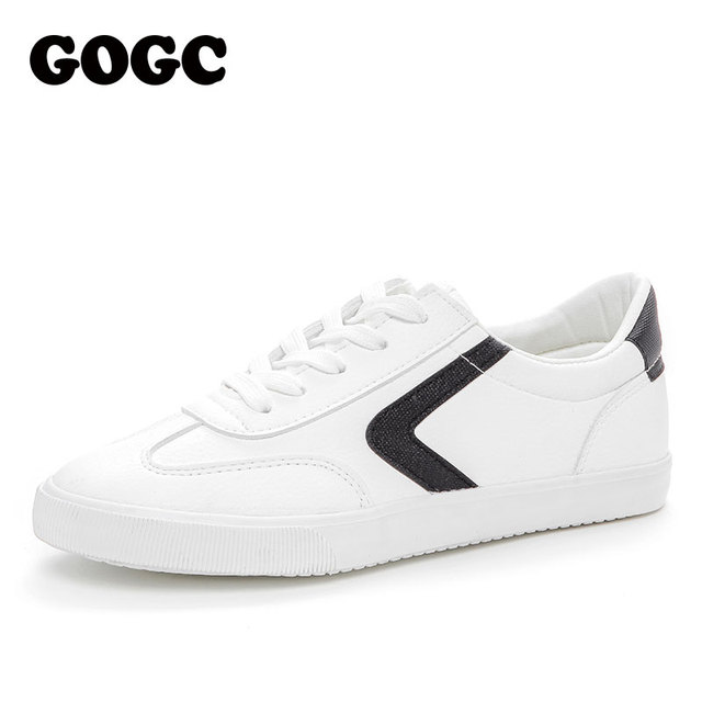 GOGC running shoes women slipony White canvas shoes Ladies loafers women gym shoes women Sneakers Women's Vulcanize Shoes G790