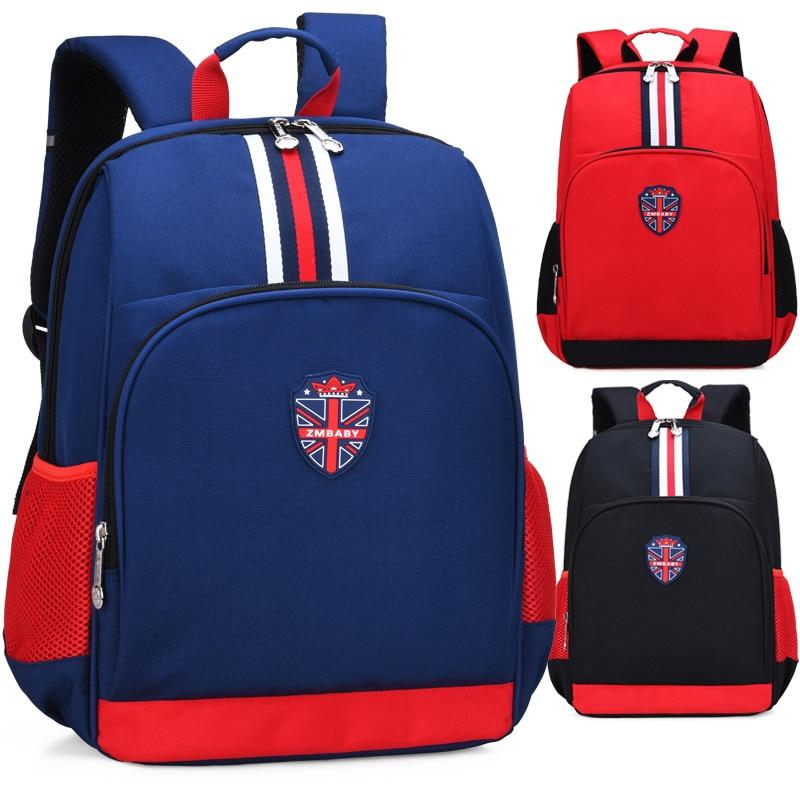 2019 Britischen Stil Streifen Union Jack Mädchen Junge Kinder Grundschule Tasche Bagpack Schulranzen Kids Jugendliche Schüler Rucksäcke